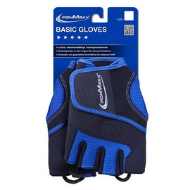 Basic Gloves Blue (S/M, L/XL)