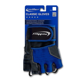 Classic Gloves Blue (S/M, L/XL)