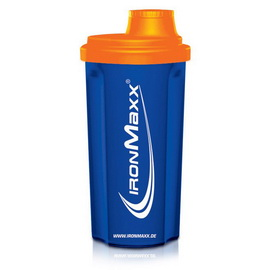 Shaker IronMaxx Ozean Blue/Neon Orange (700 ml)