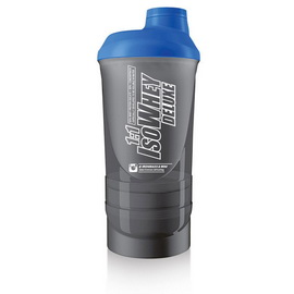 Super Shaker 3 in 1 Smoked Black/Blue (600 ml)
