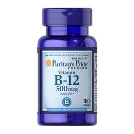 Vitamin B-12 500 mcg (100 tabs)
