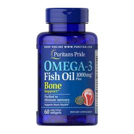 Omega-3 Fish Oil 1000 mg Plus Bone Support (60 softgels)