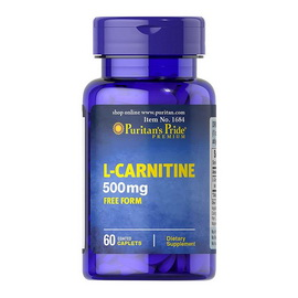 L-Carnitine 500 mg (60 caplets)
