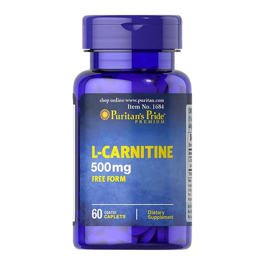 L-Carnitine 500 mg (60 caplets)