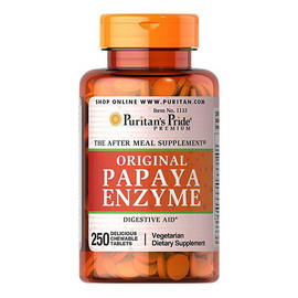 Papaya Enzyme Original (250 chew tabs)