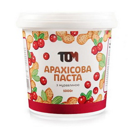 Арахисовое масло с клюквой (1 kg)
