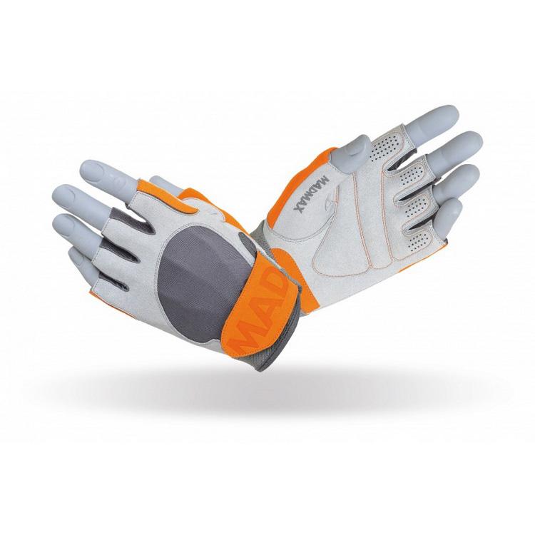 Crazy MFG-850 Gloves Grey/Chili (S, M, L, XL, XXL)