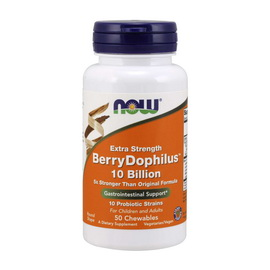 BerryDophilus Extra Strength 10 Billion (50 chew tabs)