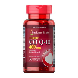 Q-SORB CO Q-10 400 mg (30 softgels)