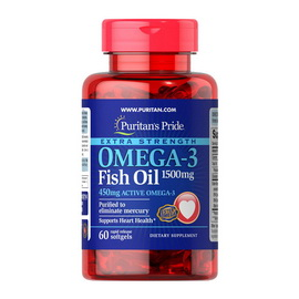 Omega-3 Fish Oil 1500 mg (60 softgels)