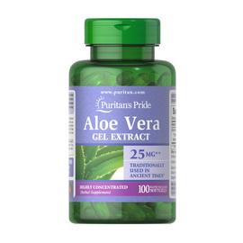 Aloe Vera Gel Extract 25 mg (100 softgels)