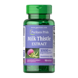 Milk Thistle Extract 1000 mg (90 softgels)