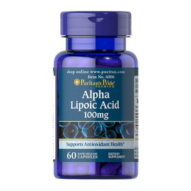 Alpha Lipoic Acid 100 mg (60 caps)