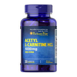 Acetyl L-Carnitine 1000 mg (30 caps)