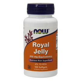 Royal Jelly 300 mg (100 softgels)