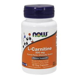 L-Carnitine 500 mg (30 veg caps)