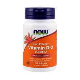 Vitamin D-3 2000 IU (30 softgels)