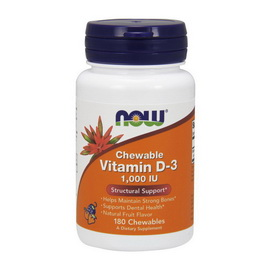Vitamin D-3 1000 IU Chewable (180 chewables)