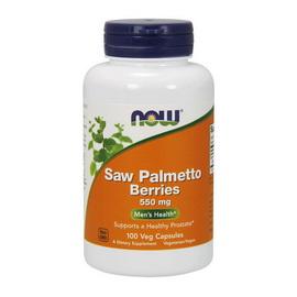 Saw Palmetto Berries 550 mg (100 caps)