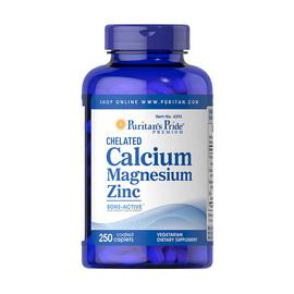 Chelated Calcium Magnesium Zinc (250 caplets)