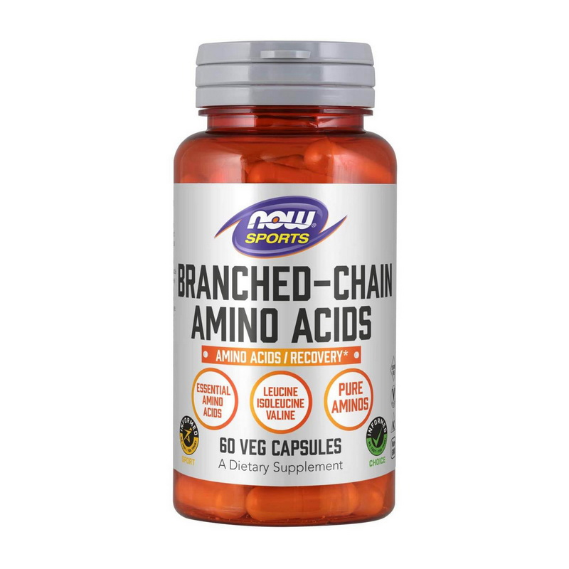 Branched Chain Amino Acids (60 caps)