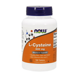 L-Cysteine 500 mg (100 tabs)