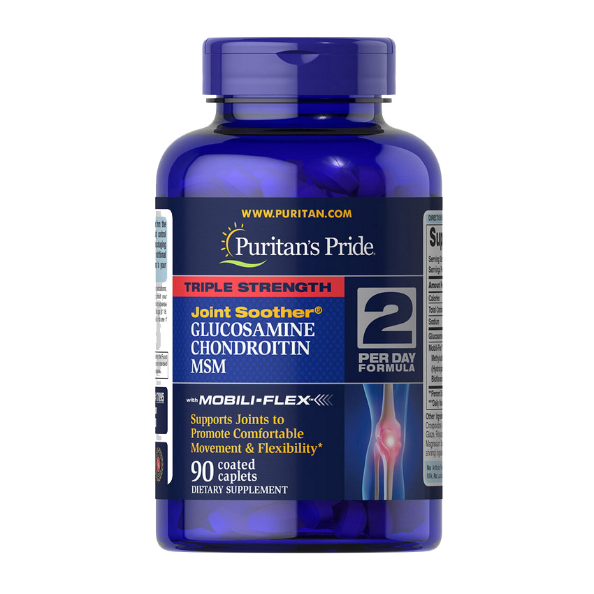 TS Glucosamine & Chondroitin with MSM Joint Soother (90 caplets)