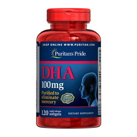 DHA 100 mg (120 softgels)