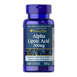 Alpha Lipoic Acid 300 mg (60 caps)