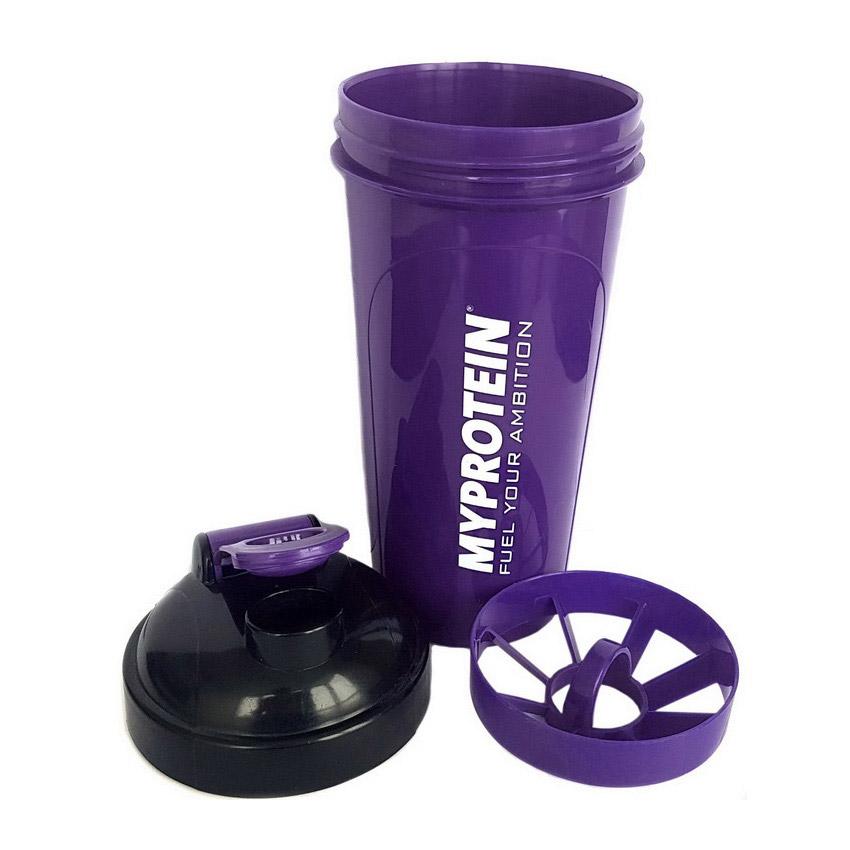 Shaker Myprotein Purple/Black (700 ml)