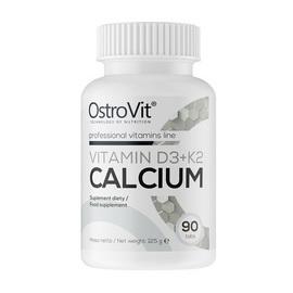 Vitamin D3+K2 Calcium (90 tabs)