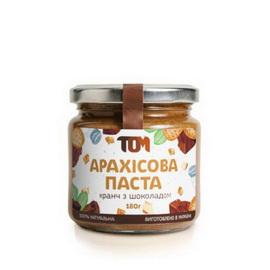 Арахисовое масло кранч с шоколадом (180 g)