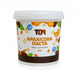 Арахисовое масло кранч с шоколадом (500 g)