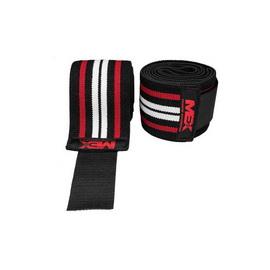 Pro Elbow Wraps Red Black Локтевые бинты