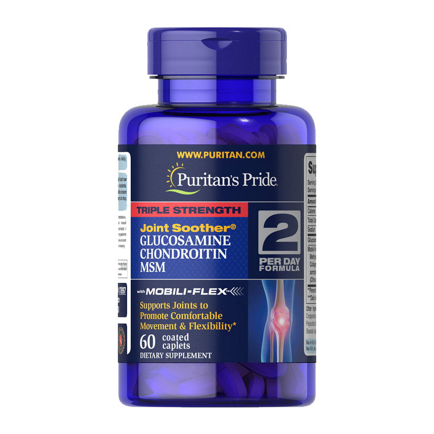 TS Glucosamine & Chondroitin with MSM Joint Soother (60 caplets)