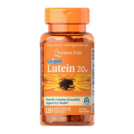 Lutein 20 mg (120 softgels)