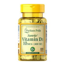 Vitamin D3 400 IU (100 tabs)