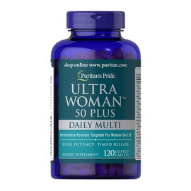 Ultra Woman 50 Plus Daily Multi Timed Release (120 caplets)