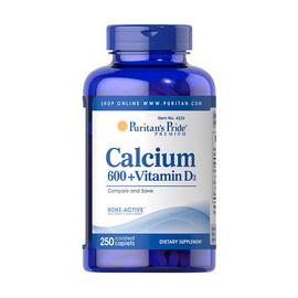 Calcium 600 + Vitamin D3 (250 caplets)