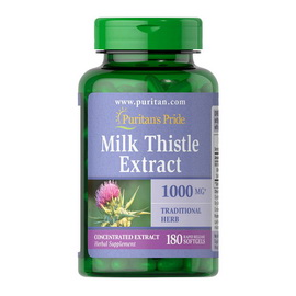 Milk Thistle Extract 1000 mg (180 softgels)