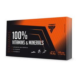 100% Vitamins & Minerals (60 caps)