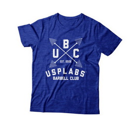 New UBC Fitted T-Shirt Blue/White (S, M, L, XL, XXL)