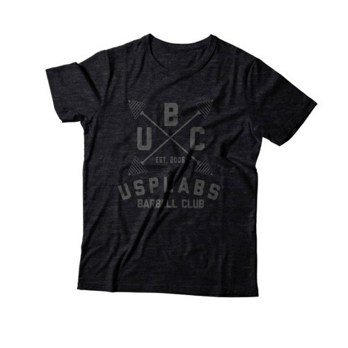 New UBC Fitted T-Shirt Black/Black (S, M, L, XL, XXL)