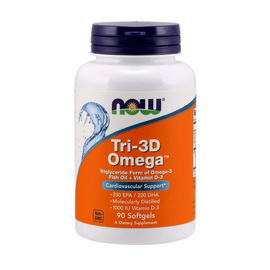 Tri-3D Omega-3 (90 softgels)
