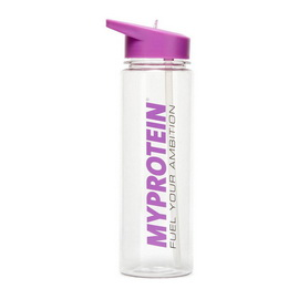 Myprotein Straw Water Bottle Purple