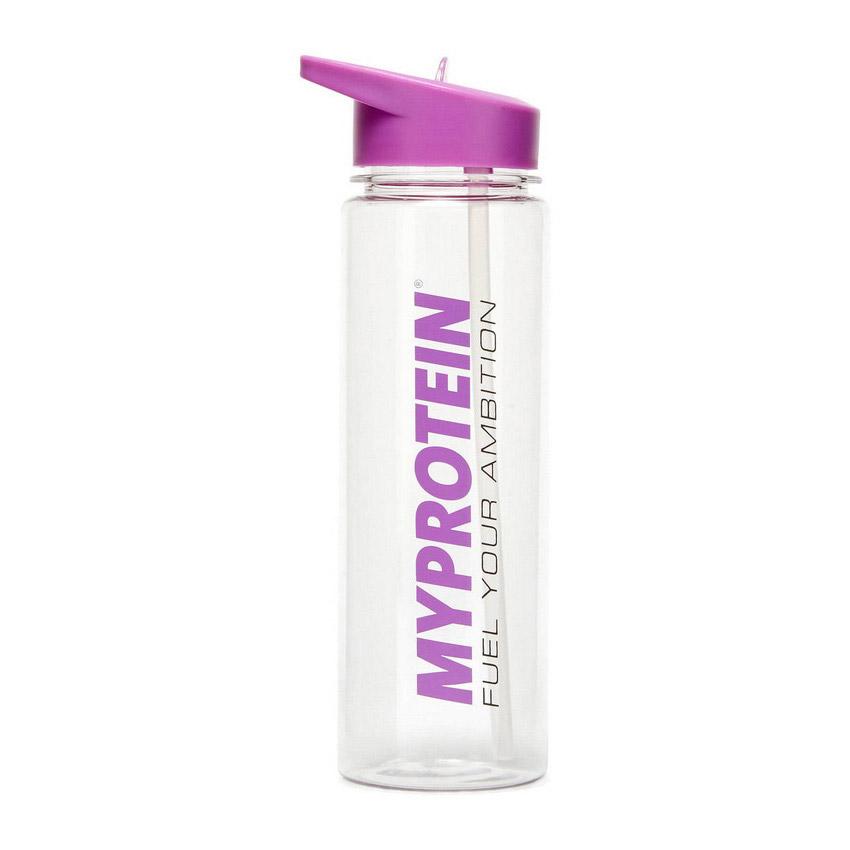 Myprotein Straw Water Bottle Purple