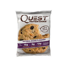 Quest Protein Cookie Oatmeal Raisin (1 x 63 g)