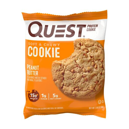 Quest Protein Cookie Peanut Butter (1 x 58 g)