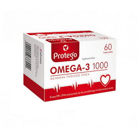 Protego Omega-3 1000 (60 softgels)