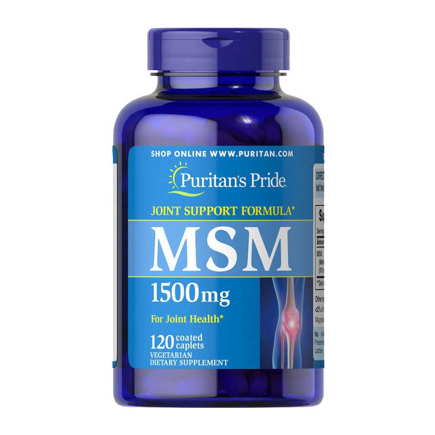 MSM 1500 mg (120 caplets)